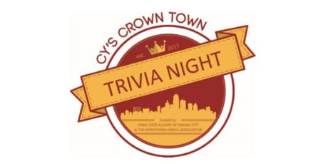 3rd Annual Cy's Crown Town Trivia Night benefiting the Myasthenia Gravis Association tickets