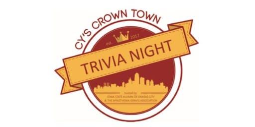 3rd Annual Cy's Crown Town Trivia Night benefiting the Myasthenia Gravis Association