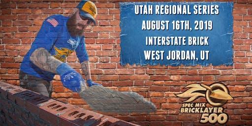 SPEC MIX BRICKLAYER 500® Utah Regional Series