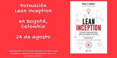 Formación Lean Inception en Bogotá - Colômbia entradas