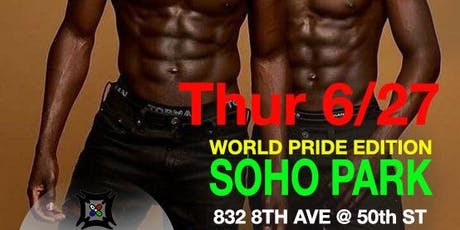 BLOOM | SALON NYC WORLD PRIDE EDITION  @ SOHO PARK tickets