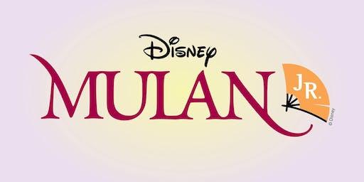 Real School Presents: Mulan Jr.
