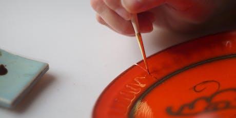 Kintsugi; Traditional Japanese Technique of Repairing Ceramics tickets