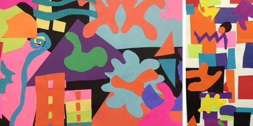 September 24 YOUTH: Matisse Inspired Paper Collages w/ Mrs. Debi