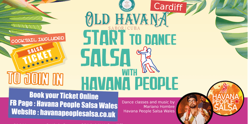 Salsa Class Beginners - Old Havana Cardiff