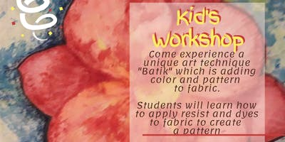 Kid's Batik Workshop