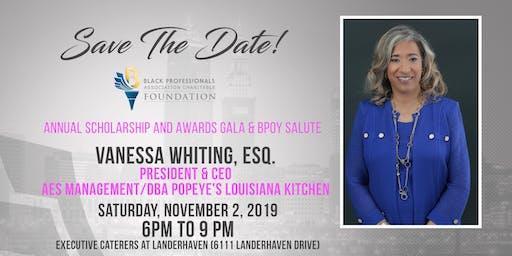 39th Anniversary Scholarship & Awards Gala and BPOY Salute