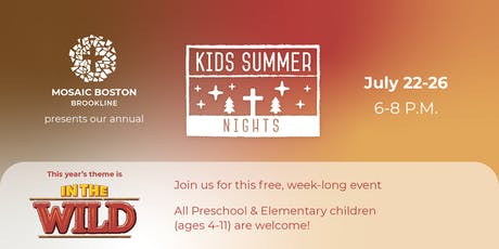 Kids Summer Nights tickets
