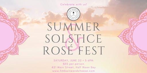 Summer Solstice & Rosé Fest