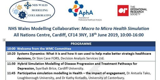 NHS Wales Modelling Collaborative: From Macro to Micro Health Simulation