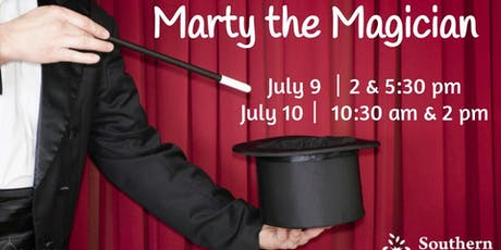 Marty the Magician tickets