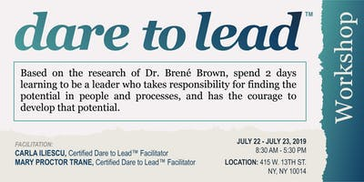 Dare to Lead Workshop