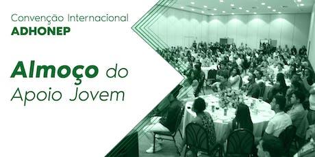 Almoço Apoio Jovem - Convenção ADHONEP 2019 ingressos