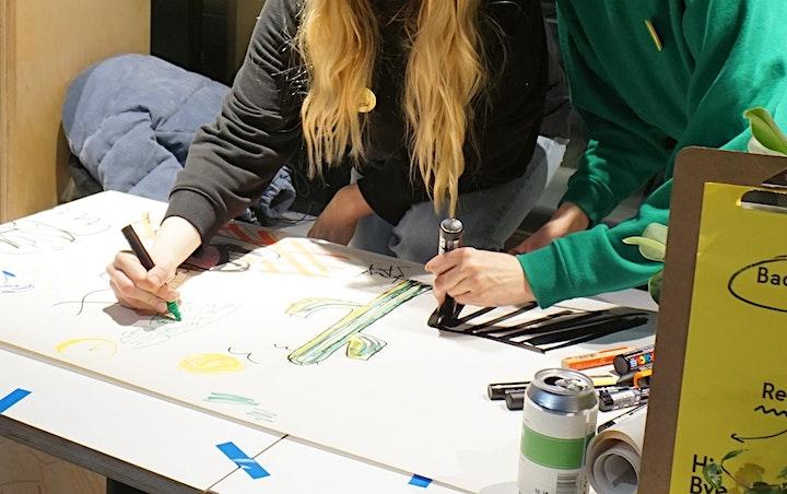 Illustration Workshop - Make a silly zine! image