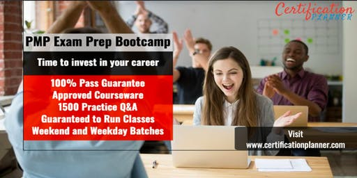 Project Management Professional (PMP) Bootcamp in Greenville (2019)