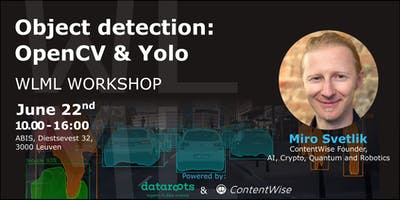 Workshop: Object detection with OpenCv & Yolo