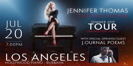 Jennifer Thomas -The Fire Within Tour (Los Angeles, CA) Ft. J.ournal Poems tickets