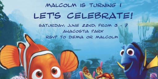 Malcolm's 1st Birthday