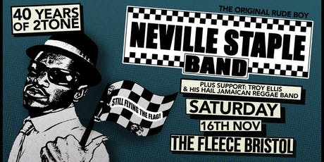 Neville Staple + Troy Ellis tickets