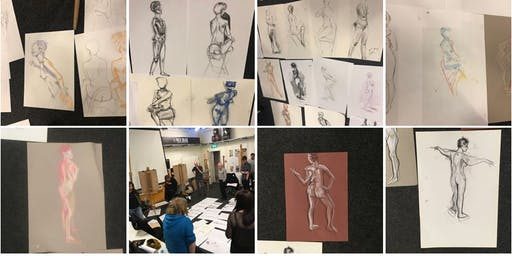Drop-in Life Drawing in the City Centre
