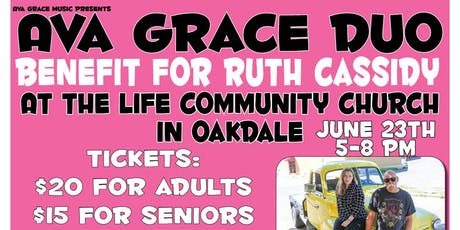 Ava Grace Duo at Cancer Benefit for Ruth Cassidy tickets