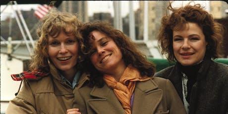 """Meu Filme Favorito com Cíntia Moscovich – Filme """"Hannah e Suas Irmãs"""" (1986), de Woody Allen ingressos"""