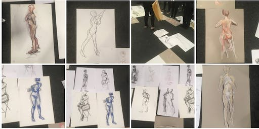 Drop-in Life Drawing in Dublin City Centre