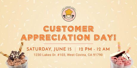 Ice Cream Chef | Customer Appreciation Day! tickets