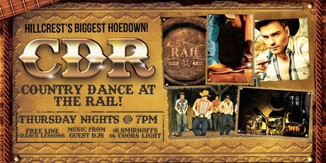 Country Dance at The Rail tickets