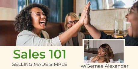 Sales 101: Selling Made Simple tickets