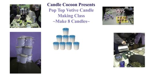 "Votive ""Pop-Top"" Candle Making Class"