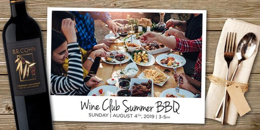 B.R. Cohn Wine Club Summer BBQ