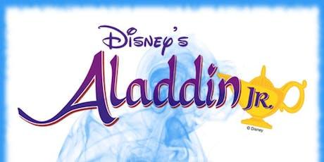 "Disney's ""Aladdin, Jr."" Youth Theater Camp Performance - Saturday, June 22, 7:00pm tickets"