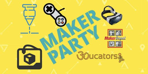 Make things happen: Maker Party at Maker Depot