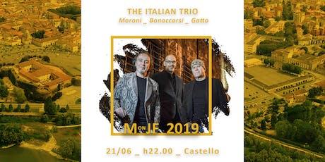 The Italian Trio: Moroni + Bonnacorso + Gatto biglietti