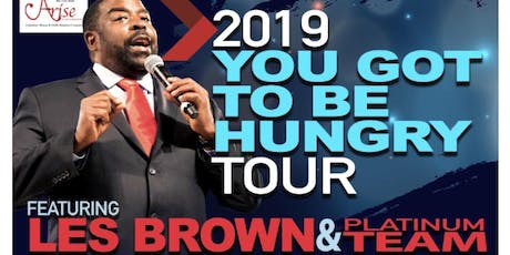Les Brown's You've Gotta Be Hungry Tour - Unlock Your Powers Within -Ottawa tickets