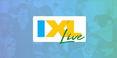 IXL Live - Elk Grove, CA (Oct. 8)