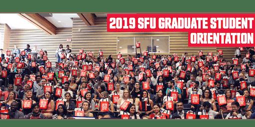 Graduate Student Orientation Fall 2019