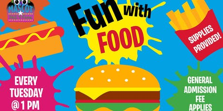FUN WITH FOOD @ The Mascot Hall of Fame tickets