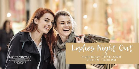 Ladies Night Out at Living Vintage tickets
