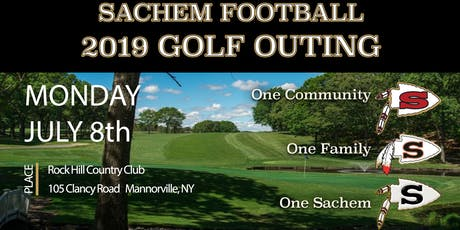 2019 Sachem Football Golf Outing tickets