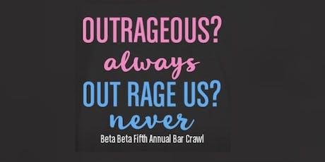 Fifth Annual Beta Beta Alumni Bar Crawl  tickets