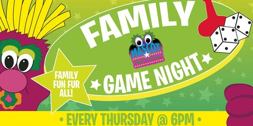 FAMILY GAME NIGHT @ The Mascot Hall of Fame