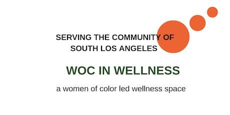 WOC IN WELLNESS: Yoga + Gut Health Workshop  tickets