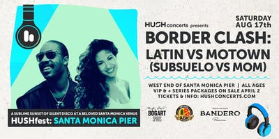 HUSHfest Silent Disco:  Border Clash Subseulo vs. MOM DJ's