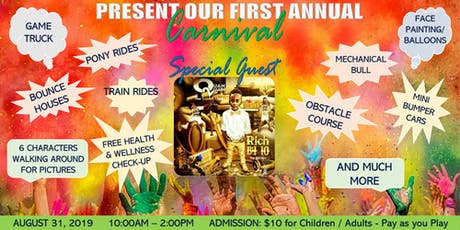 Sacred Children Inc First Annual Carnival 2019 tickets
