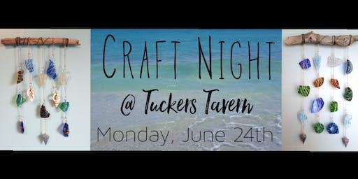Craft Night! Sea Glass Sun Catchers!!