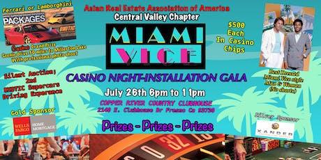MIAMI VICE CASINO NIGHT-INSTALLATION GALA tickets