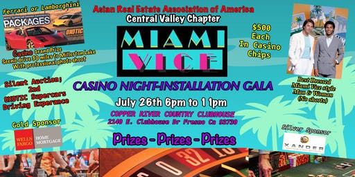 MIAMI VICE CASINO NIGHT-INSTALLATION GALA