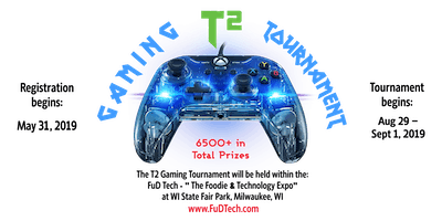 T2 Gaming Tournament Event